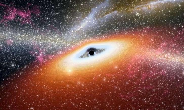 """天文学家发现,前所未见的""""黑洞吞星现象"""""""