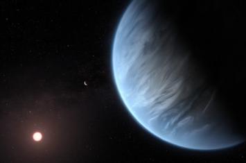 """首次在太阳系外发现有水的""""超级地球"""""""