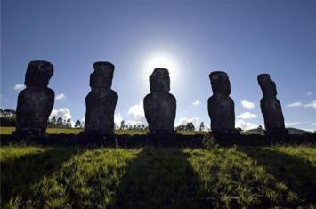 复活岛巨人像之迷:石像是怎么形成的,谜底震惊世人!