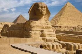 狮身人面像秘密,疑似长时间浸泡水中/地下藏着一座巨型建筑群