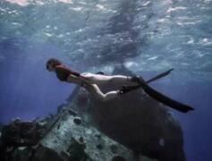 海底龙宫塞班岛蓝洞,美丽景色散发死亡的气息