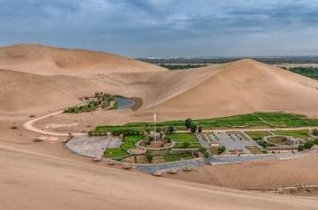 我国第一座沙漠公园