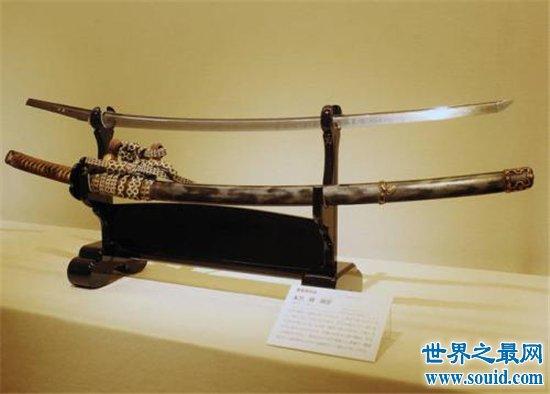 日本十大妖刀,吞噬人心把握不好就会要了你的命!