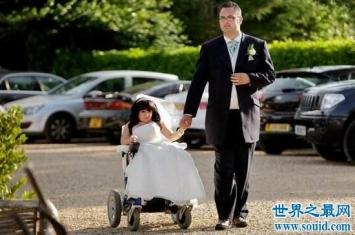 世界最小新娘,身高仅81厘米依旧收获爱情!