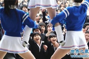世界上最短的裙子,日本高校校服让男生直呼受不了