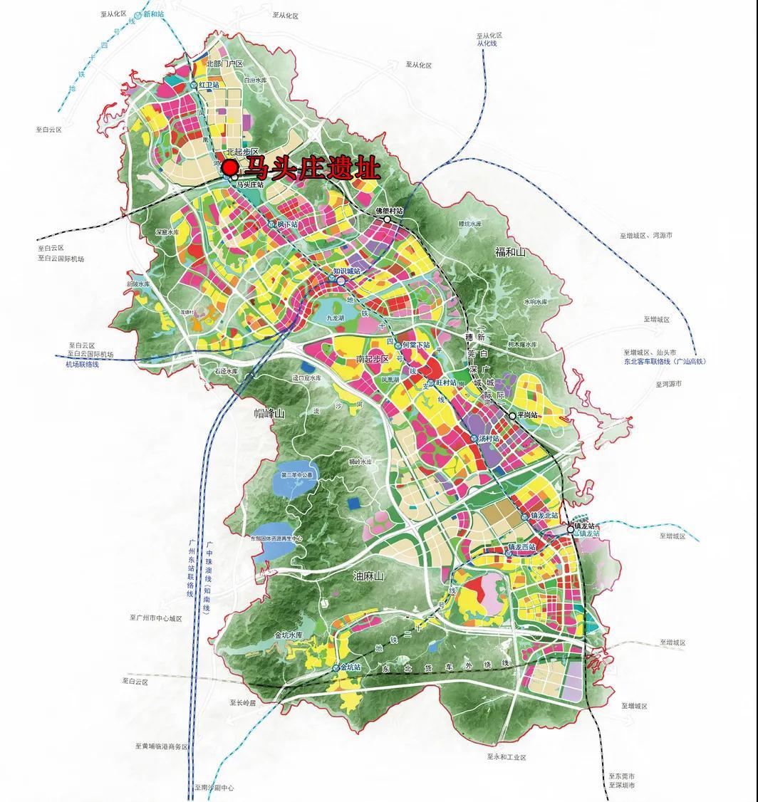 广州中新知识城北起步区马头庄发现先秦时期遗址  第2张