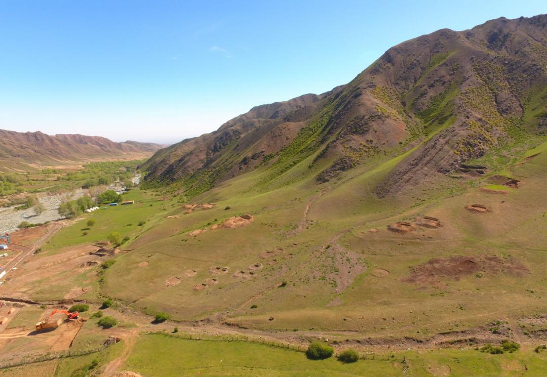 新疆阜康白杨河流域发现大型墓群  第2张