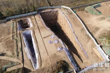 西安东郊西汉早期墓葬群发掘古墓葬27座