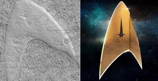火星上拍到V字形沙丘/火星人脸/大虫子是真的吗?