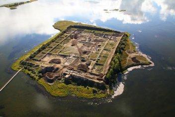 俄罗斯境内的博尔巴任神秘唐代古城遗址
