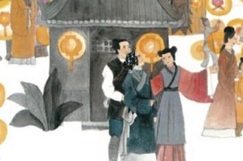 东方朔与元宵姑娘的故事