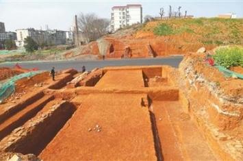 宜春发现一处古城墙遗址