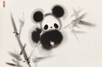 大熊猫是中国的国宝,为什么在古代艺术作品中却十分的少见呢?