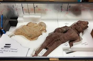 美国纽约警方破获全美历史上最大的亚洲文物走私案