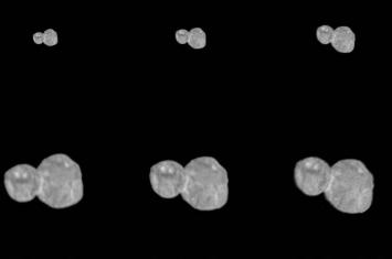 天涯海角(Ultima Thule)小行星就像一个雪人 新视野号曝光其清晰影像