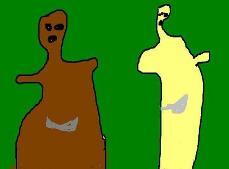 熊出没灵异事件,95集熊大诡异变身(头变细长/手变短似外星人)