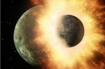 月亮是怎么形成的