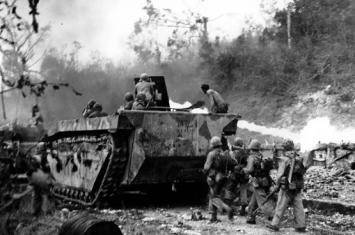 太平洋战争的布干维尔岛战役是怎样的?美国为何不全力攻击?