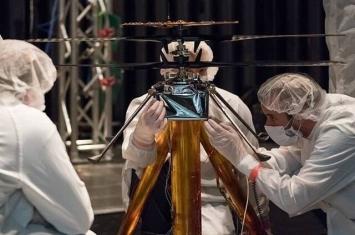 """美国太空总署太阳能火星直升机完成试飞 明年7月与""""火星2020号""""探测车一同升空"""