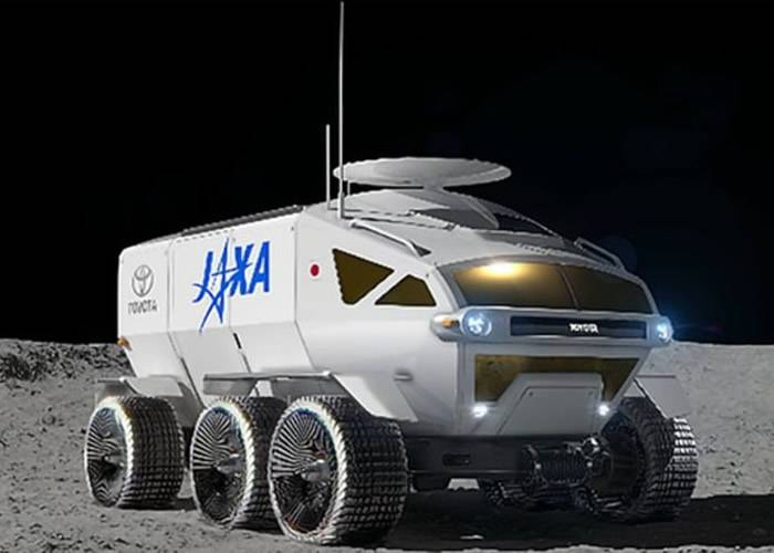 日本开发能在月球表面不穿太空衣乘坐的月球车 望2029年跟美国火箭升空