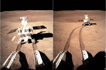 """中国月球车""""玉兔二号""""巡视器第3度休眠 共行163米已达设计寿命尽头"""