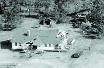 上世纪五六十年代美国空军两次在美国上空误投原子弹