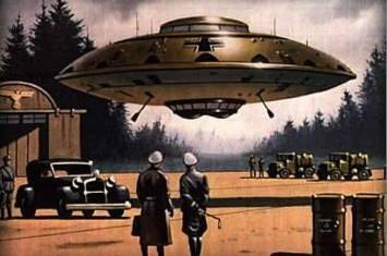 希特勒为赢得战争曾秘密研制UFO