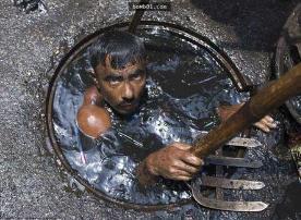 世界上最槽糕的五种工作,地下水道清洁工死亡率最高