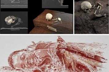古人类学家在肯尼亚海岸附近洞穴发现非洲最古老墓穴 出土7.8万年前儿童遗骸