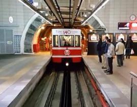世界上最短的地铁,杜乃尔地铁全长为573米