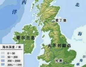 欧洲最大的岛屿,大不列颠岛面积为20万平方公里