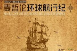 麦哲伦故事,乃人类首次环球航行(地球是圆之说)