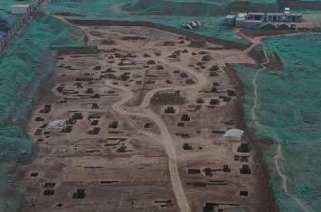 """陕西西安工地发现三秦之一的雍王章邯都城""""废丘"""" 或证刘邦水淹废丘"""