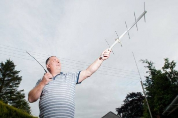 英国小伙Adrian Lane在自家后院奇迹般打通国际空间站(ISS)电话