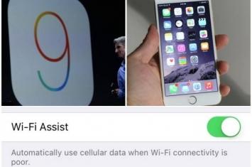 苹果iOS 9新增WiFi助手功能 上网更流畅