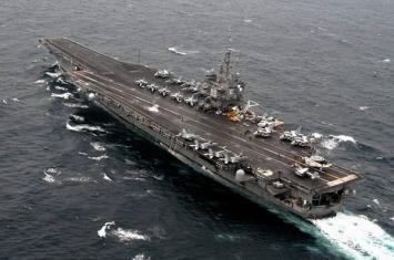 """世界上第一艘核动力航母""""企业""""号退役"""