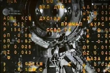 """抵达国际空间站的""""联盟MS-11""""号飞船乘员打开了舱门转入空间站"""