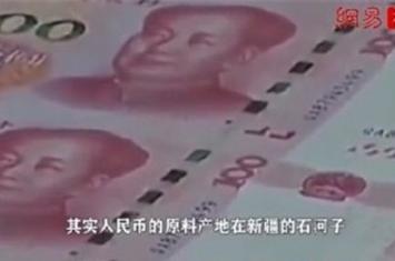 人民币纸张主要成分是新疆棉花