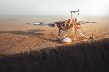"NASA火星登陆器""洞察号""安全着陆 精彩任务揭密!"