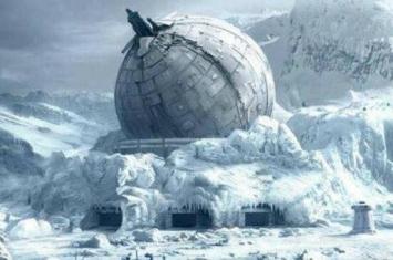 南极城市发现外星人基地,南极腹地城市隐藏众多外星人