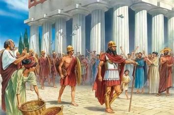 古希腊城邦与城邦之间的结盟要经过哪些程序?