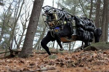 """美国波士顿动力公司研发""""山猫""""机器人"""