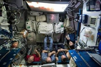 国际空间站的美国宇航员今晚或因炎热无法睡觉
