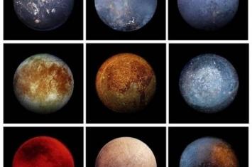 平底锅中的欧罗巴?NASA发布卫星九宫格考眼光