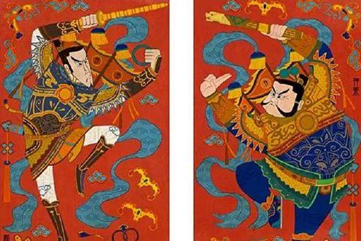 中国历史上最早的门神是谁?