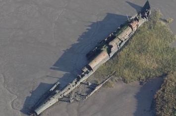 英国肯特郡谷岛泥滩发现一战德军UB-I22潜艇