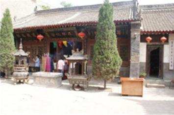 樊梨花和西安青华宫的渊源