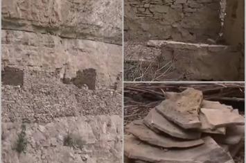 山西省运城市稷山县化峪镇佛峪口村北山发现的石头建筑群为南北朝时期战争遗物