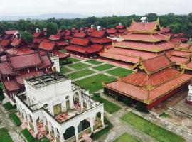 世界上最大的宫殿,缅甸曼德勒皇宫(占地面积400万平方米)世界之最