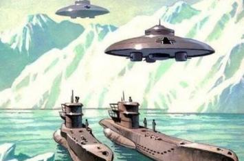 希特勒南极秘密基地是南极地下雅利安城,在南极死光之中